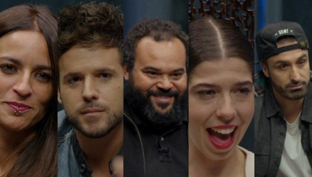 Carlos Jean, Bebe, Pablo López, Tote King y De la Purísimma el próximo martes en 'Al rincón'