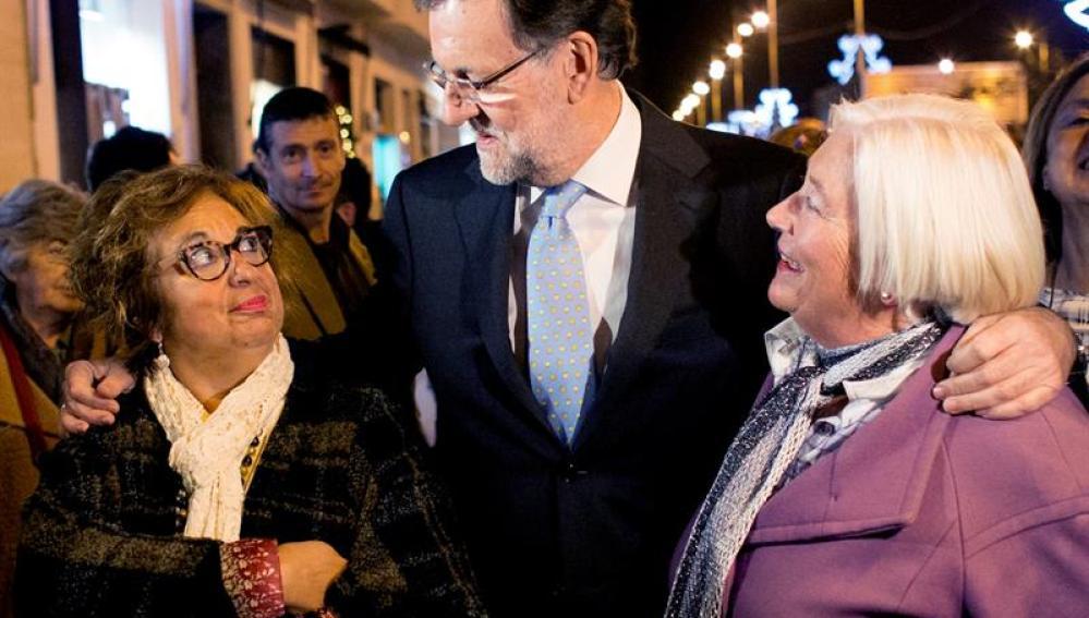 Rajoy, en plena campaña por Galicia