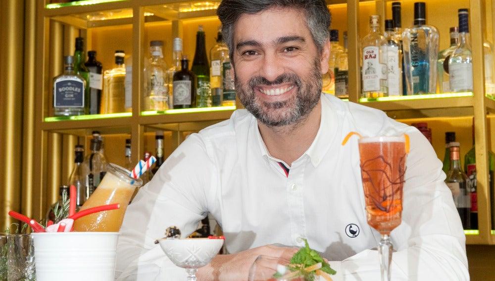 Diego Cabrera y los zumos de frutas: una mezcla perfecta