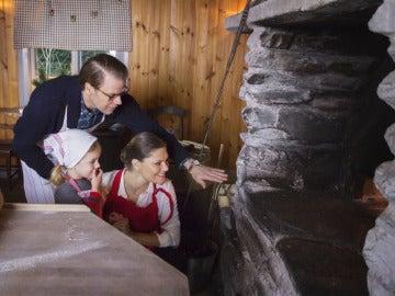 Los herederos de Suecia felicitan la Navidad de 2015