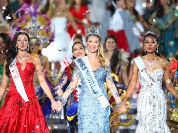La española Mireia Lalaguna coronada como Miss Mundo 2015