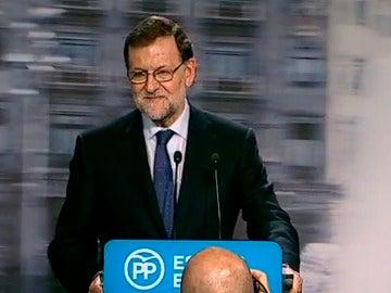 Rajoy en rueda de prensa