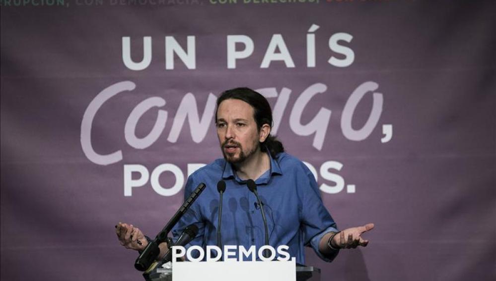 Pablo Iglesias analiza el panorama político tras las eleccione