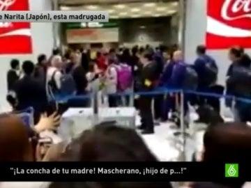 Aficionados de River insultan a Mascherano