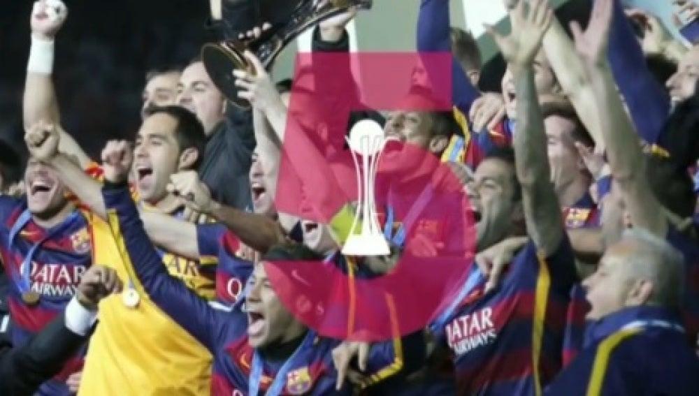 El Barcelona gana 5 títulos en 2015