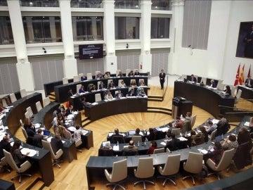 El pleno del Ayuntamiento de Madrid