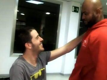 Alberto Aláiz se reencuentra con Elinson