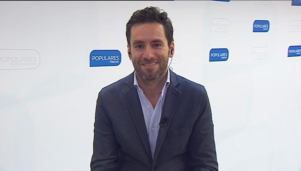 Borja Semper, candidato del PP por Guipúzcoa