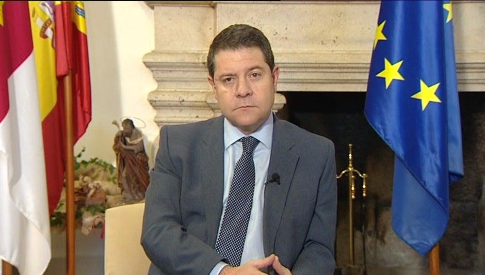 El presidente de Castilla-La Mancha, el socialista Emiliano García-Pag