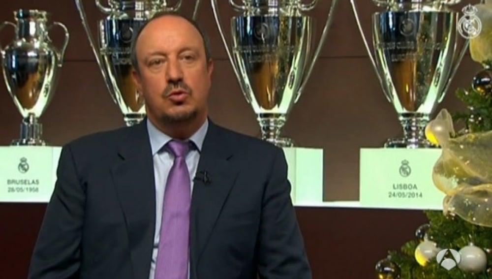Rafa Benítez, entrenador del Real Madrid