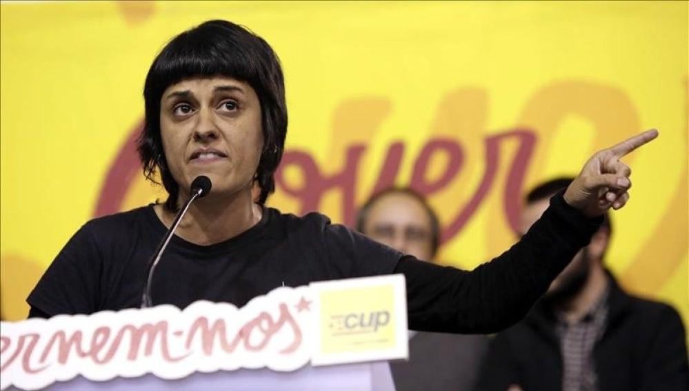 La número dos de la CUP en el Parlament, Anna Gabriel
