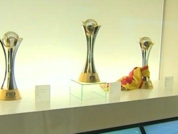 Las Copas del Mundialito conquistadas por el Barcelona
