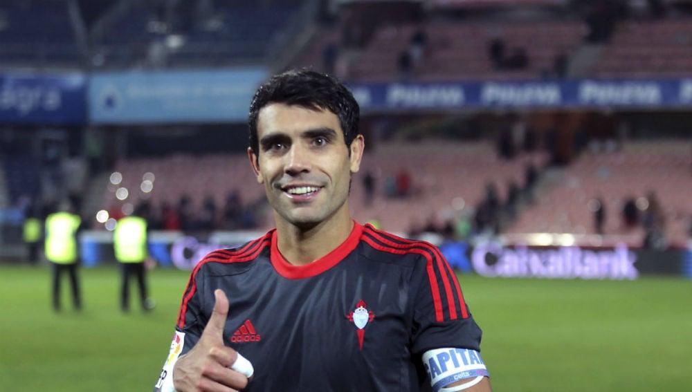 Augusto Fernández, centrocampista del Celta