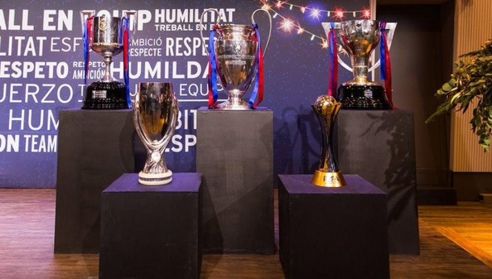 Las cinco Copas logradas por el Barcelona en 2015