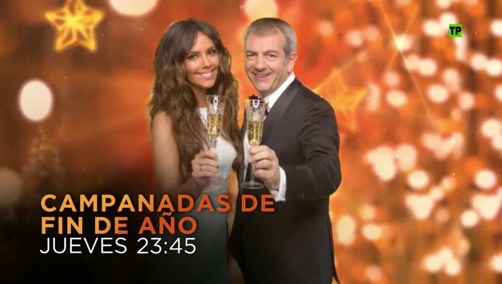 Cristina Pedroche y Carlos Sobera presentarán las Campanadas 2015 en Antena 3