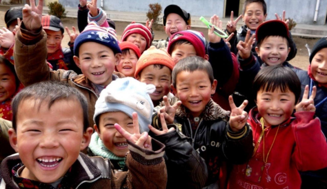 Niños chinos