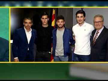 Sergi Guardiola y Josep Pedrerol