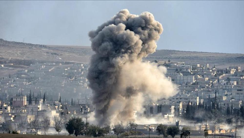 Ataque de las fuerzas de la coalición lideradas por Estados Unidos en Siria