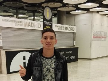 Kranevitter, en el aeropuerto Madrid Barajas - Adolfo Suárez