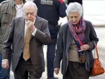 Jordi Pujol y Marta Ferrusola en una imagen de archivo