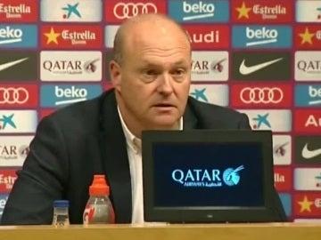 Pepe Mel, durante la rueda de prensa