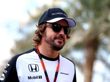 Fernando Alonso, con los colores de McLaren-Honda