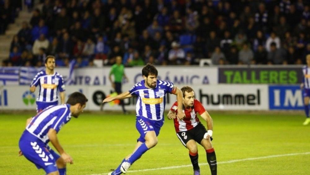 El Alavés se enfrenta al Bilbao Athletic