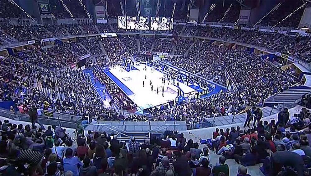 El Fernando Buesa Arena antes del partido