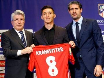 Kranevitter, junto a Cerezo y Caminero