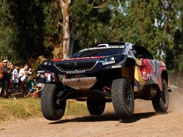 Loeb en el prólogo del Dakar
