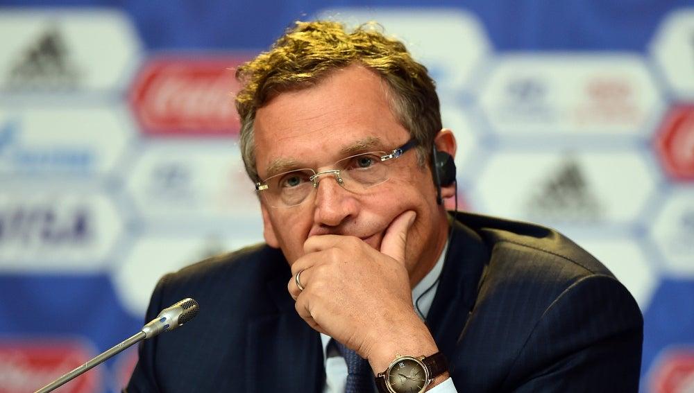 Jérôme Valcke, exsecretario general de la FIFA