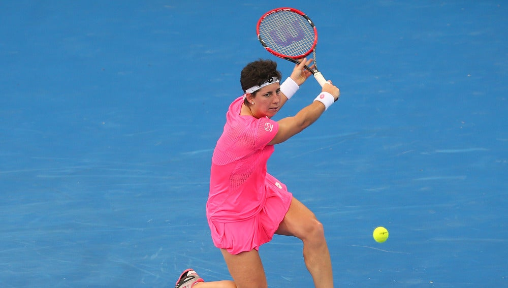 Carla Suárez se marcha del torneo de Brisbane tras perder la semifinal