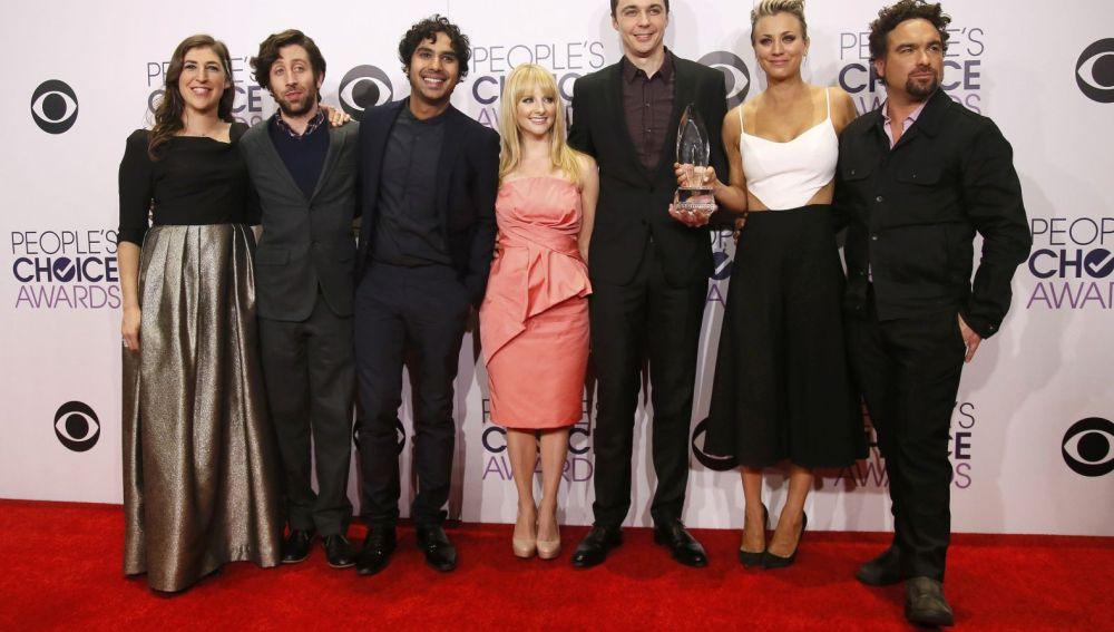 El elenco de 'The Big Bang Theory' en los People's Choice Awards