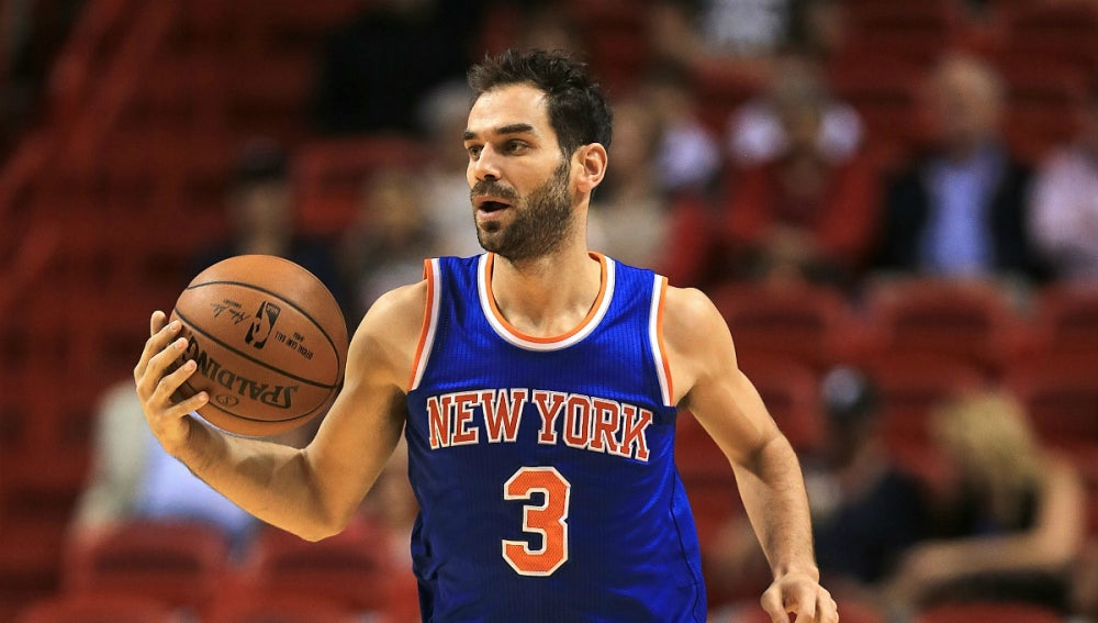 Calderón, con los Knicks
