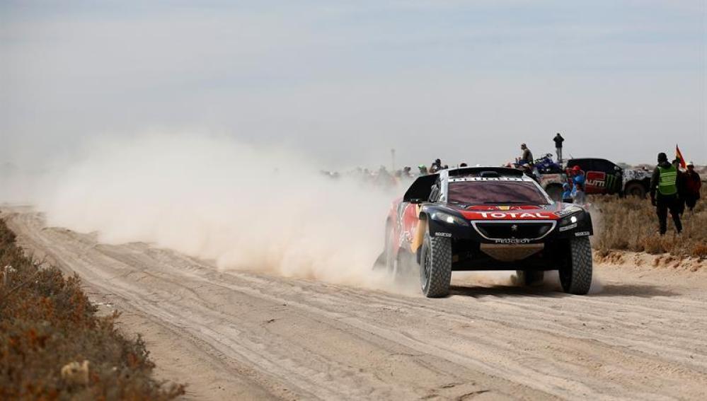 Carlos Sainz, en el Dakar 2016