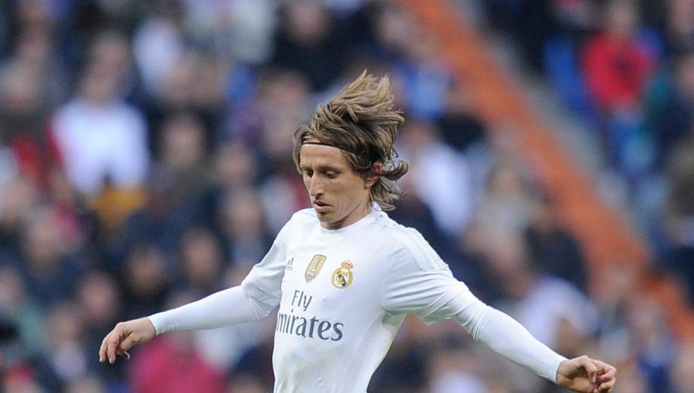 Luka Modric, con el Real Madrid