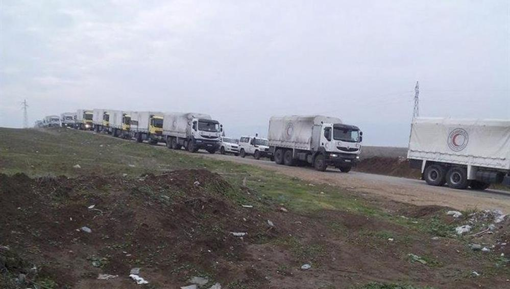 La ayuda humanitaria llega a Madaya