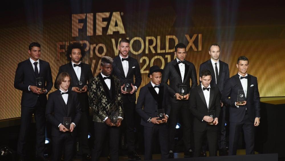 Once ideal de la FIFA