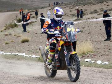 Toby Price en la octava etapa del Dakar 2016