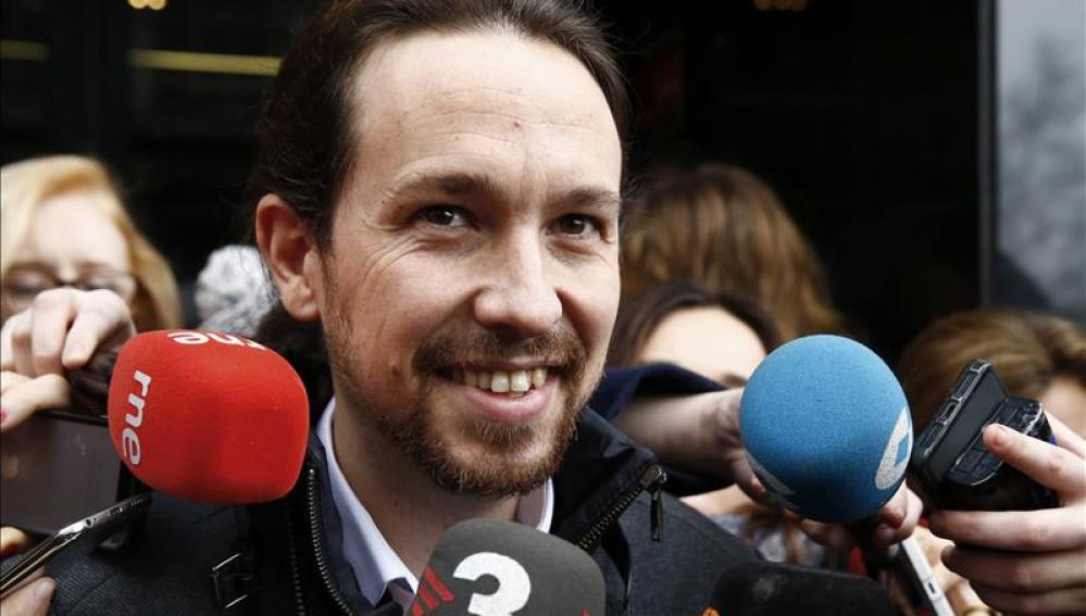 Líder de Podemos, Pablo Iglesias