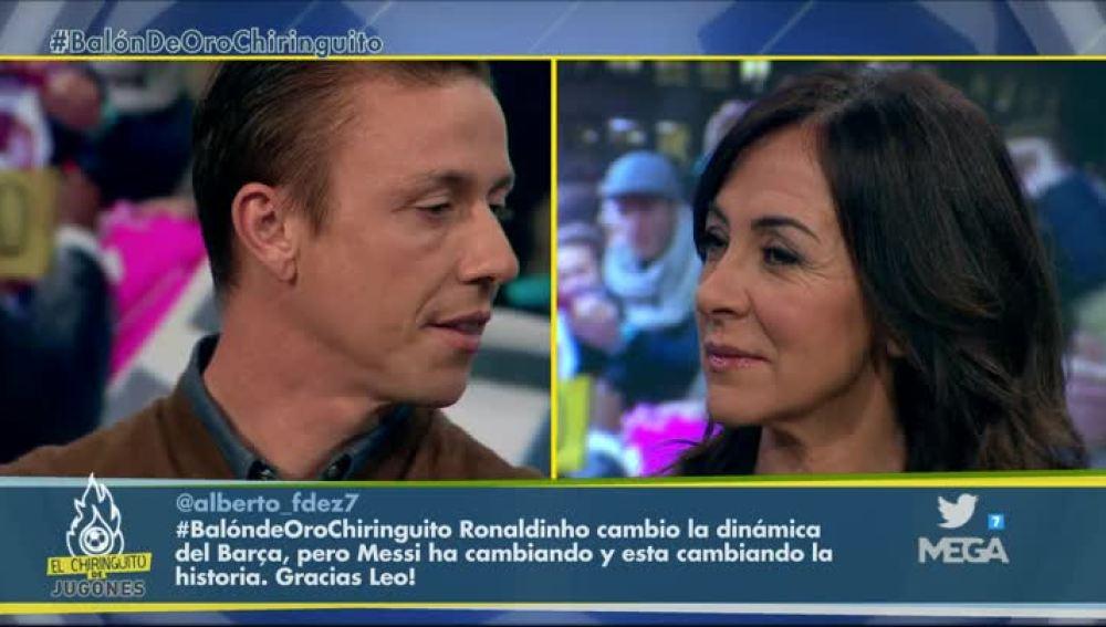 Guti y Carme Barceló