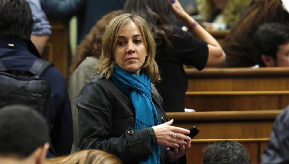 La diputada de Podemos Tania Sánchez