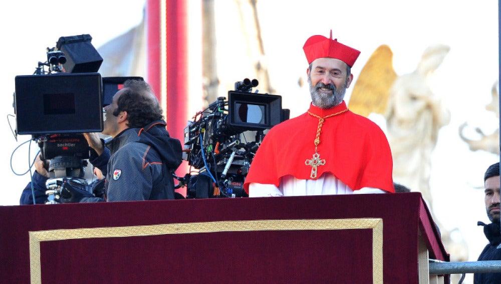 Javier Cámara rueda la película en Venecia