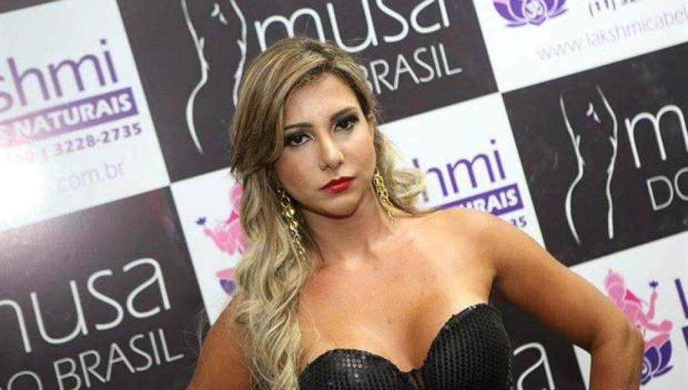 Raquel Santos, finalista en el concurso de belleza Musa do Brasil 2015