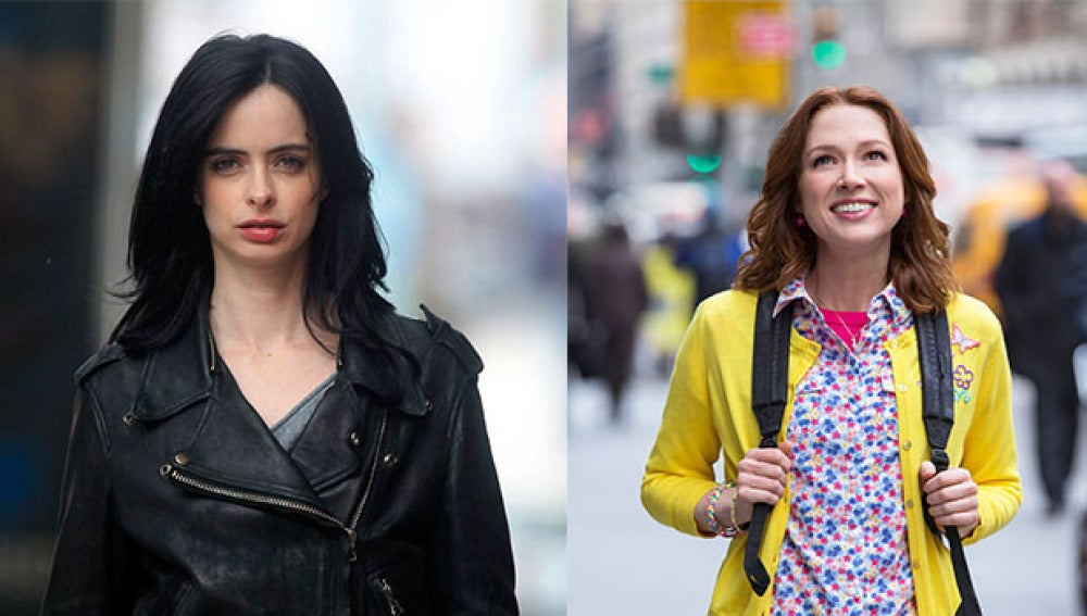 'Jessica Jones' y 'Unbreakable Kimmy Schmidt'
