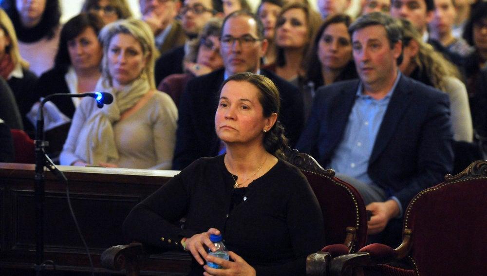 Montserrat González, acusada de la muerte de la presidenta de la Diputación de León, Isabel Carrasco