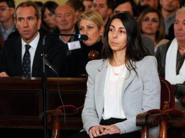 La policía local Raquel Gago, durante el juicio