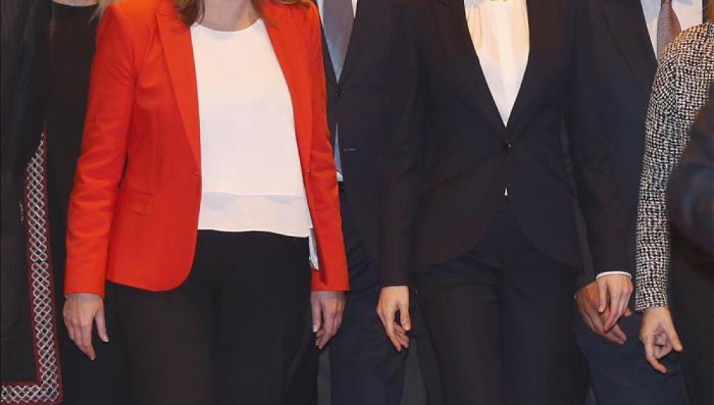 Susana Díaz junto a la Reina Letizia