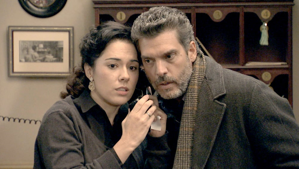 Carmen se niega a delatar a Leonor