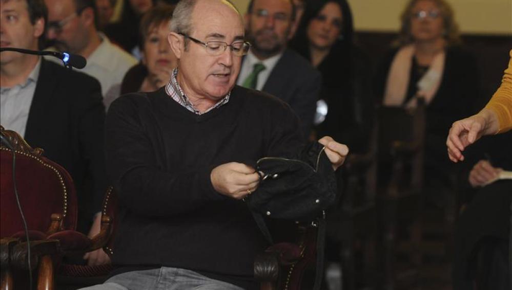El policía nacional jubilado Pedro Mielgo Silván, que propició la detención de dos de las acusadas